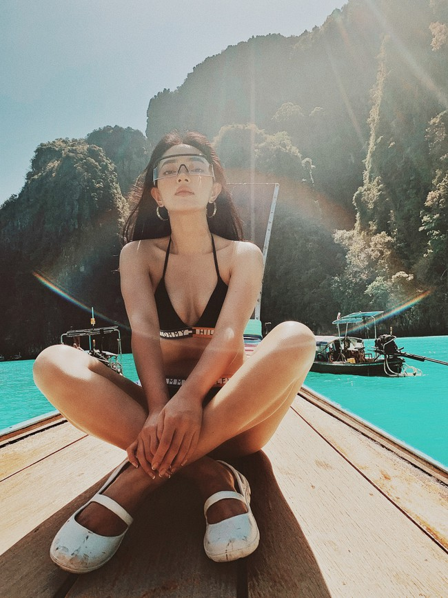 Không sở hữu chiều cao lý tưởng nhưng Châu Bùi vẫn có body cực kỳ nóng bỏng và quyến rũ - Ảnh 2.