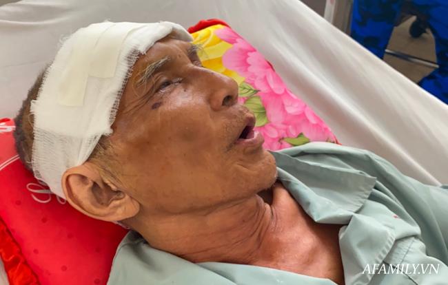 TP.HCM: Bệnh viện khẩn tìm người thân cho cụ ông bị té đập đầu mê sảng, không ai ở bên cạnh - Ảnh 1.