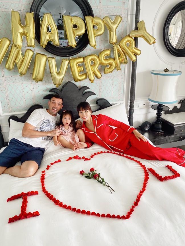 Siêu mẫu Hà Anh tiết lộ bí quyết hạnh phúc sau 4 năm kết hôn - Ảnh 2.