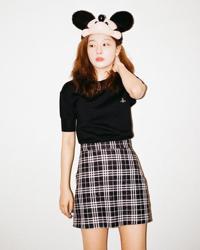 """Chân váy ngắn chính là """"bảo bối"""" của hội mỹ nhân thấp bé Kbiz và loạt cách diện chuẩn sành điệu đáng học từ họ  - Ảnh 10."""