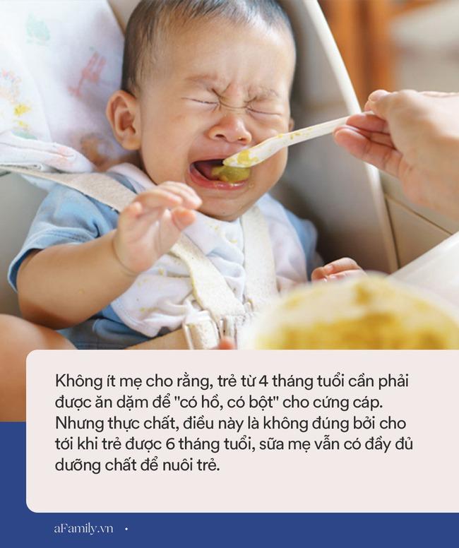 11 sai lầm về cách chăm sóc dinh dưỡng cho trẻ các mẹ nên từ bỏ ngay - Ảnh 3.