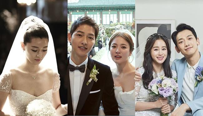 """Truyền thông Hàn bình chọn """"cô dâu đẹp nhất"""": Jun Ji Hyun, Kim Tae Hee đều có mặt nhưng chua chát nhất là Song Hye Kyo ở vị trí đầu tiên"""