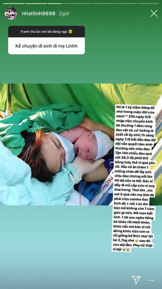 Bà xã Phan Văn Đức kể chuyện đau đẻ 18 tiếng, lên bàn mổ mê man bất tỉnh, bảo sao chồng đứng ngoài khóc nức nở - Ảnh 1.