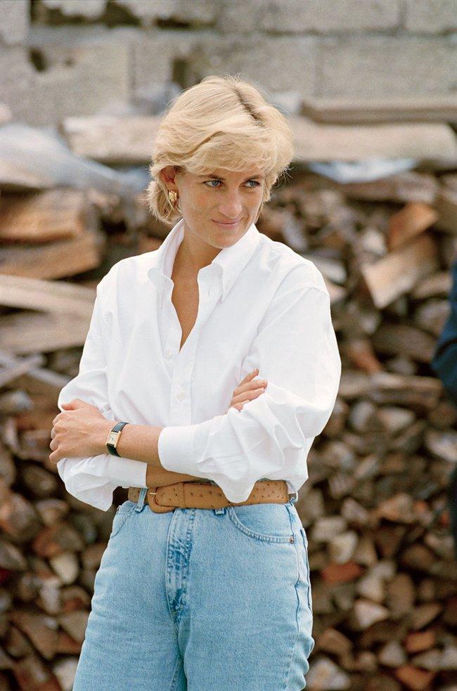 Lên đồ theo style của công nương Diana, cô nàng này ngộ ra được bao nhiêu chân lý mặc đẹp  - Ảnh 4.