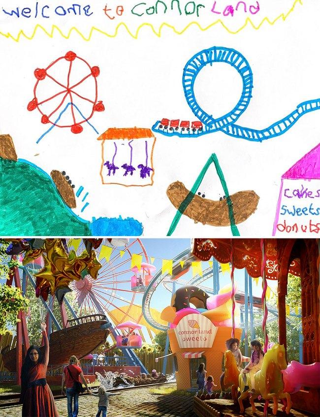 """Bước ra từ trí tưởng tượng của trẻ nhỏ, những khu vườn mơ ước được """"phù phép 3D"""" khiến ai nhìn cũng phải trầm trồ - Ảnh 2."""