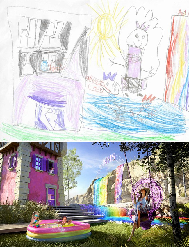 """Bước ra từ trí tưởng tượng của trẻ nhỏ, những khu vườn mơ ước được """"phù phép 3D"""" khiến ai nhìn cũng phải trầm trồ - Ảnh 3."""