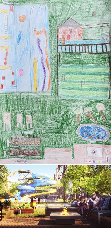 """Bước ra từ trí tưởng tượng của trẻ nhỏ, những khu vườn mơ ước được """"phù phép 3D"""" khiến ai nhìn cũng phải trầm trồ - Ảnh 8."""