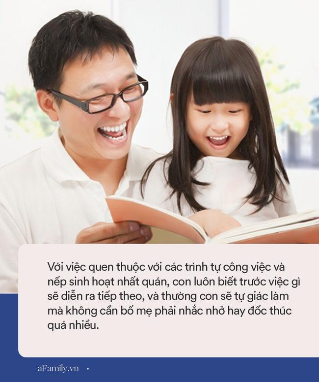Thiết lập nếp sinh hoạt lành mạnh cho con, cả gia đình sẽ nhận lại những lợi ích to lớn, nhưng nhiều phụ huynh lại hay nhầm lẫn điều này - Ảnh 4.