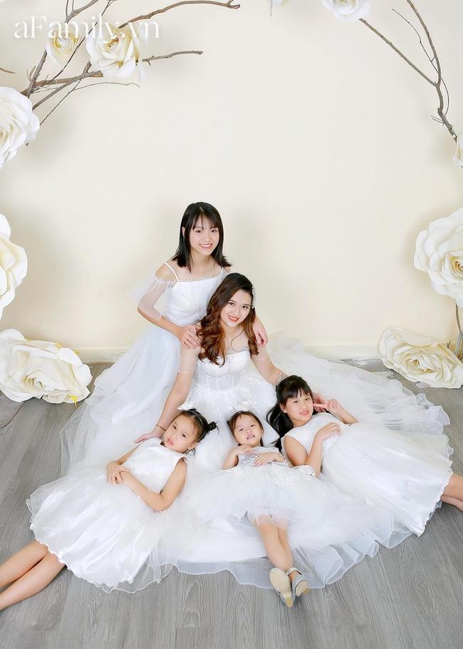 """Mẹ Hà Nội """"dành cả thanh xuân để đẻ"""": Sinh mổ lần 5 suýt đánh đổi tính mạng, 33 tuổi làm mẹ của 4 cô con gái xinh xắn - Ảnh 2."""