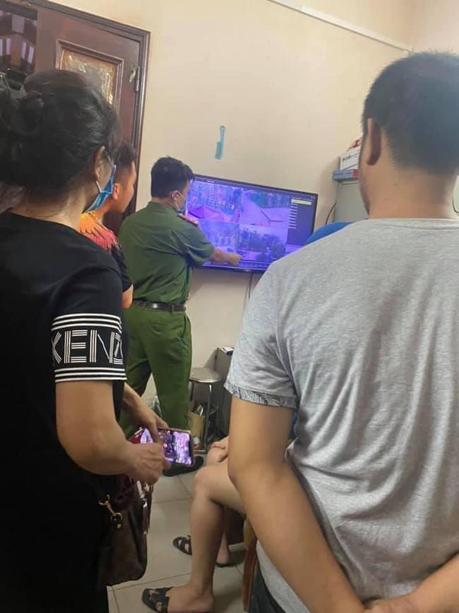 Công an Bắc Ninh đang trích xuất camera khu vực để tìm kiếm cháu bé