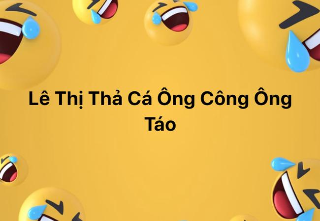 """Trào lưu đặt tên con theo nơi bố mẹ gặp nhau lần đầu: Nguyễn Hội Lim, Lê Bến Xe và loạt cái tên đọc xong cười """"đau ruột"""" - Ảnh 4."""
