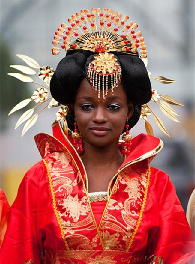 Chỉ vì một lời phán, người phụ nữ trở thành phi tần da đen của Hoàng đế trong lịch sử Trung Hoa, cuộc đời vinh quang vô hạn sau đó khiến tất cả thán phục - Ảnh 2.