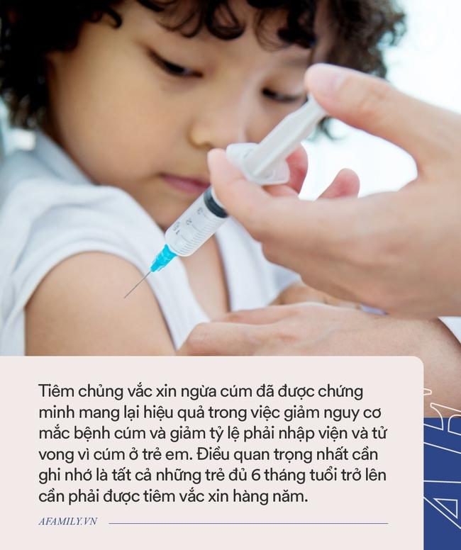 Dịch cúm sắp vào mùa, đây là việc bố mẹ cần làm ngay để phòng bệnh cho con - Ảnh 2.