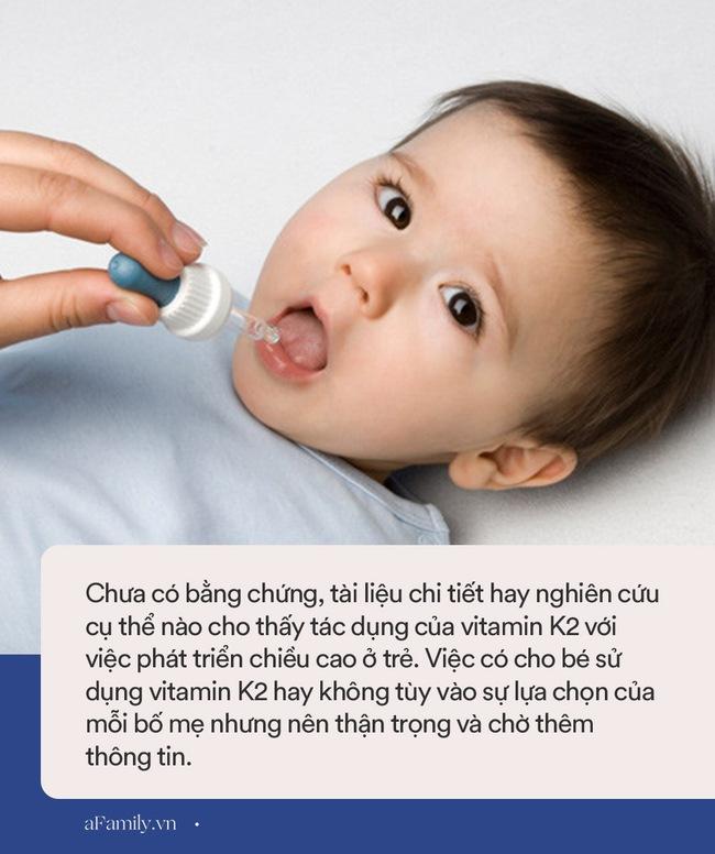 Nhiều mẹ đổ xô mua Vitamin D3 + K2 bổ sung cho con để hỗ trợ tăng chiều cao nhưng đây là ý kiến bất ngờ của bác sĩ Collin - Ảnh 3.