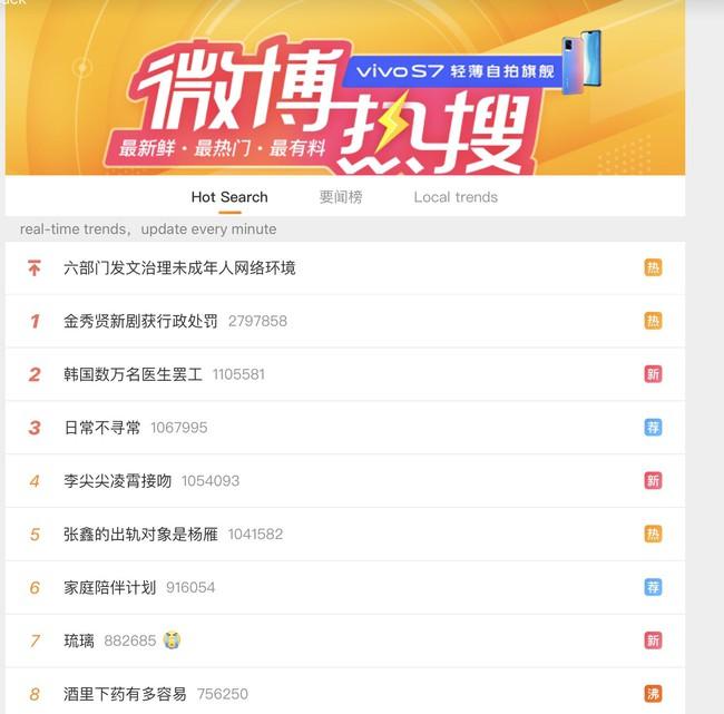 """""""Điên thì có sao"""" của Kim Soo Hyun - Seo Ye Ji bất ngờ bị bôi tên xử phạt vì sử dụng từ ngữ tục tiểu khiến Weibo náo loạn - Ảnh 3."""