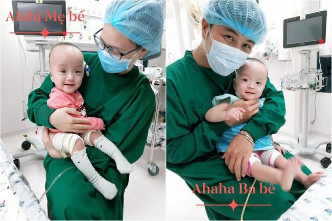 Bố mẹ Trúc Nhi - Diệu Nhi lần đầu tiên được làm điều này sau hơn 1 năm hai con chào đời, ai cũng mừng cho gia đình nhỏ - Ảnh 1.