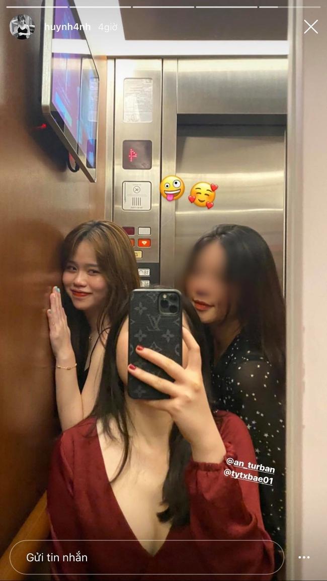 Hot girl Huỳnh Anh xuất hiện trở lại với bữa tối lãng mạn, fan xôn xao tưởng tái hợp với Quang Hải - Ảnh 2.