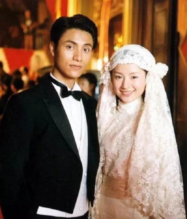 Trần Khôn và Đổng Khiết trong bộ phim Kim phấn thế gia.
