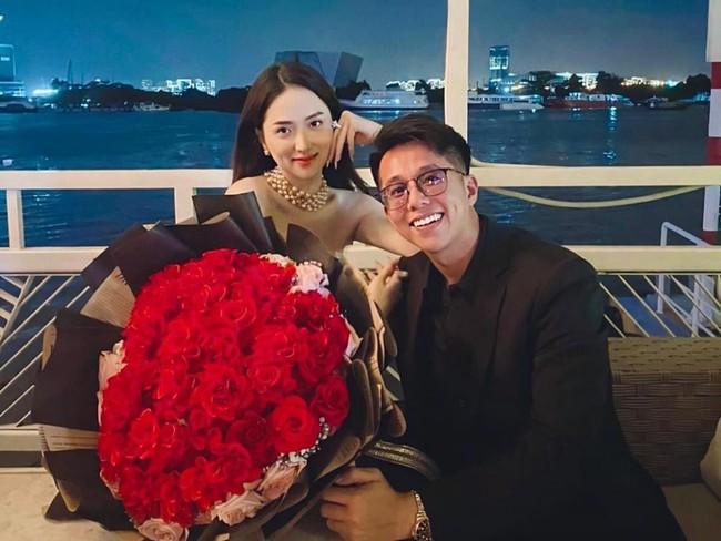 Hương Giang được bạn trai đại gia đưa đi chơi cuối tuần, lại còn ra mắt với hội bạn thân giàu có khiến fan thích thú - Ảnh 4.