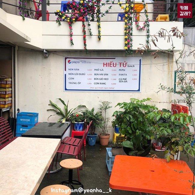 Có một góc quán bình dân ở Hàn Quốc mang đậm chất Việt từ thiết kế đến đồ ăn khiến dân mạng cực thích thú - Ảnh 6.