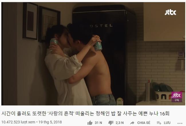 """Cảnh hôn của Son Ye Jin và Jung Hae In trong """"Chị đẹp mua cơm ngon cho tôi"""" đạt chục triệu view sau 2 năm, fan réo gọi bộ đôi tái hợp - Ảnh 2."""
