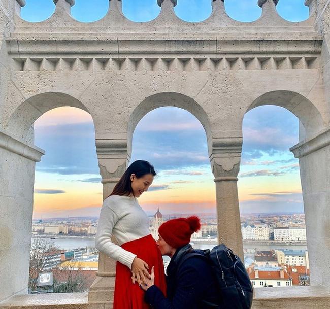 HOT: Á hậu Hoàng Oanh chính thức xác nhận đã sinh con trai đầu lòng - Ảnh 2.