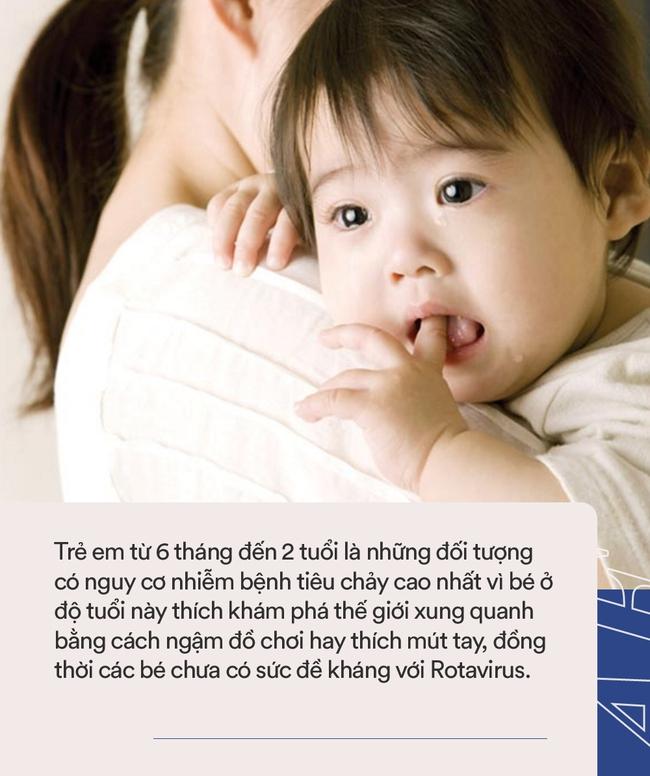 Sau độ tuổi này, trẻ uống vắc xin phòng virus Rota sẽ vô tác dụng, cho con uống đúng lịch để bé tránh phải nhập viện vì tiêu chảy - Ảnh 3.