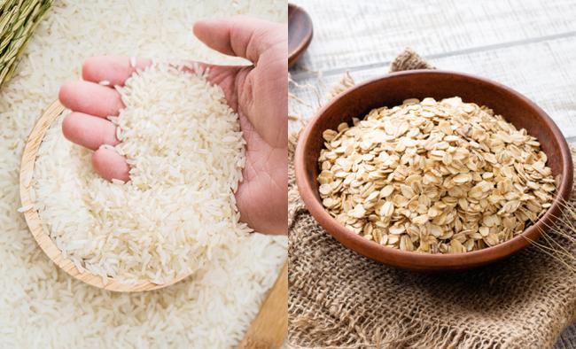 """Câu trả lời rõ ràng cho việc: """"Chọn gạo hay yến mạch?"""" khi cho con ăn dặm"""