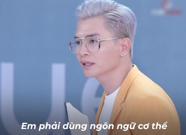 Vietnam's Next Top Model: Võ Hoàng Yến quát lớn nam thí sinh cạo đầu đi thi người mẫu nhưng nói gì cũng đều không hiểu - Ảnh 3.