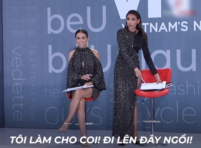 Vietnam's Next Top Model: Võ Hoàng Yến quát lớn nam thí sinh cạo đầu đi thi người mẫu nhưng nói gì cũng đều không hiểu - Ảnh 4.