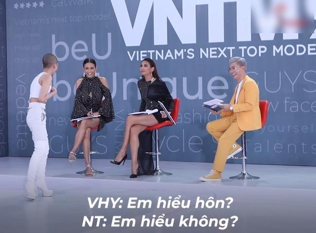Vietnam's Next Top Model: Võ Hoàng Yến quát lớn nam thí sinh cạo đầu đi thi người mẫu nhưng nói gì cũng đều không hiểu - Ảnh 8.