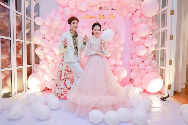 Siêu mẫu Võ Hoàng Yến cùng dàn sao Việt choáng ngợp với tiệc sinh nhật lộng lẫy của mẫu nhí 11 tuổi - Ảnh 9.