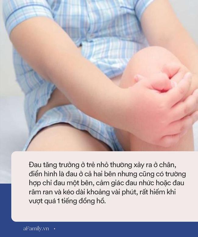 Bỗng dưng con kêu bị đau nhức chân vào ban đêm: Đâu là đau tăng tưởng, đâu là đau do bệnh tật? - Ảnh 4.