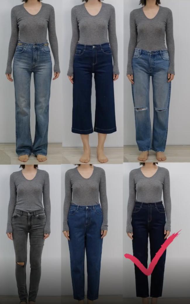Thử tới 5 dáng quần jeans, cuối cùng cô nàng này đã tìm được cho mình 1 thiết kế ưng ý mà dáng người nào cũng mặc đẹp - Ảnh 5.