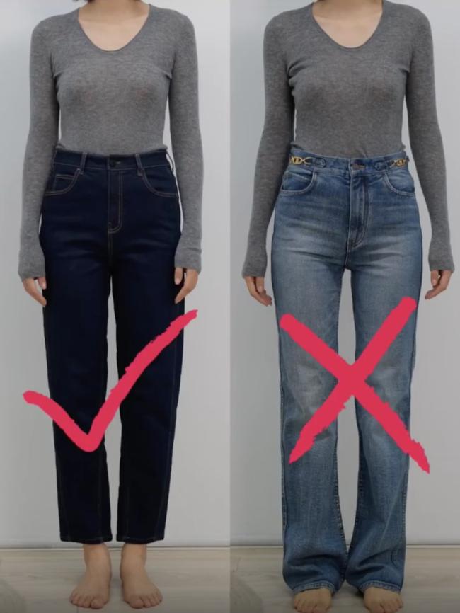 Thử tới 5 dáng quần jeans, cuối cùng cô nàng này đã tìm được cho mình 1 thiết kế ưng ý mà dáng người nào cũng mặc đẹp - Ảnh 1.