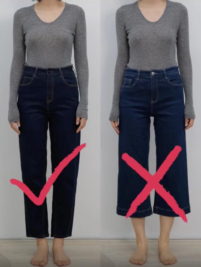Thử tới 5 dáng quần jeans, cuối cùng cô nàng này đã tìm được cho mình 1 thiết kế ưng ý mà dáng người nào cũng mặc đẹp - Ảnh 2.