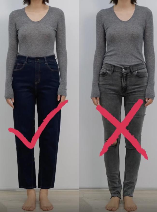 Thử tới 5 dáng quần jeans, cuối cùng cô nàng này đã tìm được cho mình 1 thiết kế ưng ý mà dáng người nào cũng mặc đẹp - Ảnh 4.
