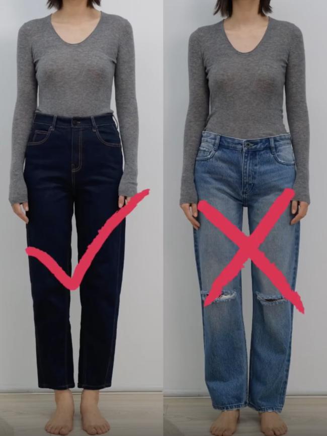 Thử tới 5 dáng quần jeans, cuối cùng cô nàng này đã tìm được cho mình 1 thiết kế ưng ý mà dáng người nào cũng mặc đẹp - Ảnh 3.