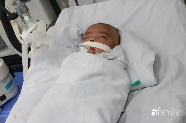 Ảnh: Khoảnh khắc bé trai sơ sinh bệnh nặng bị bỏ rơi trước cổng chùa An Lạc được bàn giao cho cha mẹ ruột - Ảnh 9.