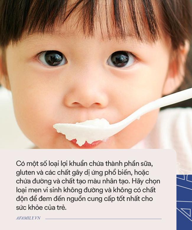 Bổ sung lợi khuẩn cho trẻ, đây là những điều bác sĩ Nhi khuyên bố mẹ cần biết trước khi cho con dùng - Ảnh 2.