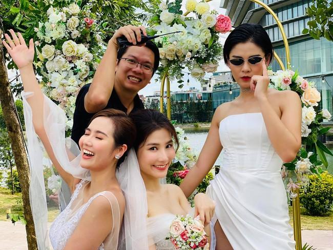 """Diễm My ngầm xác nhận đám cưới với Nhan Phúc Vinh trong """"Tình yêu và tham vọng"""" là thật, tiệc cưới của chủ tịch đầu tư siêu hoành tráng! - Ảnh 3."""