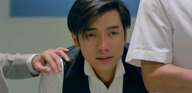 """Nhan Phúc Vinh phải thở oxy vì quay cảnh ôm Diễm My 9x bị bắn, khóc ngất trong tập cuối """"Tình yêu và tham vọng"""" - Ảnh 2."""