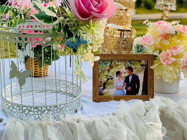 """Diễm My ngầm xác nhận đám cưới với Nhan Phúc Vinh trong """"Tình yêu và tham vọng"""" là thật, tiệc cưới của chủ tịch đầu tư siêu hoành tráng! - Ảnh 4."""