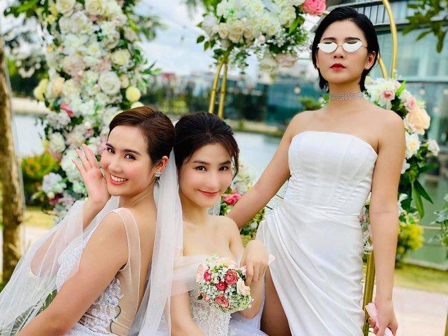 """Diễm My ngầm xác nhận đám cưới với Nhan Phúc Vinh trong """"Tình yêu và tham vọng"""" là thật, tiệc cưới của chủ tịch đầu tư siêu hoành tráng! - Ảnh 2."""