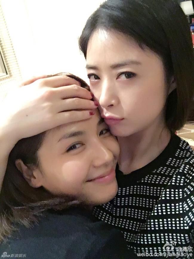 Tưởng Hân và Lưu Đào từng là chị em thân thiết nhưng giờ thì không.