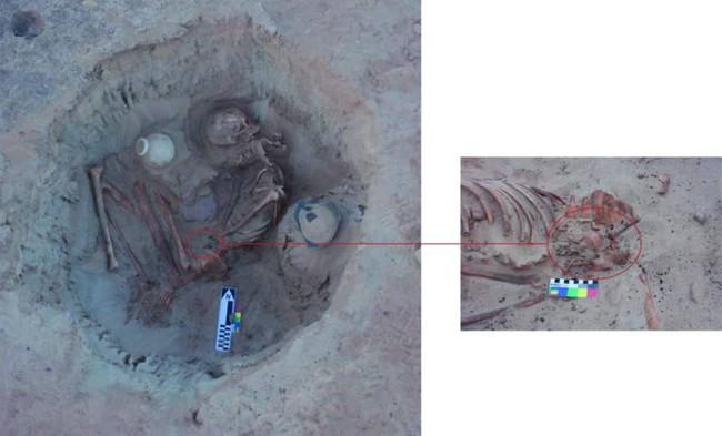 """Phát hiện hài cốt người phụ nữ 3.700 năm tuổi, các nhà khảo cổ choáng váng khi phát hiện """"vật lạ"""" ở xương chậu, mở rộng tầm mắt về việc sinh con của người xưa - Ảnh 1."""
