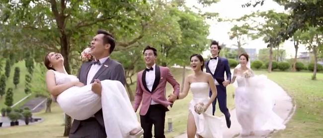 """""""Tình yêu và tham vọng"""" kết thúc viên mãn: Linh thay vị trí của Tuệ Lâm, cả đám cưới náo loạn vì cô dâu đi đẻ - Ảnh 12."""