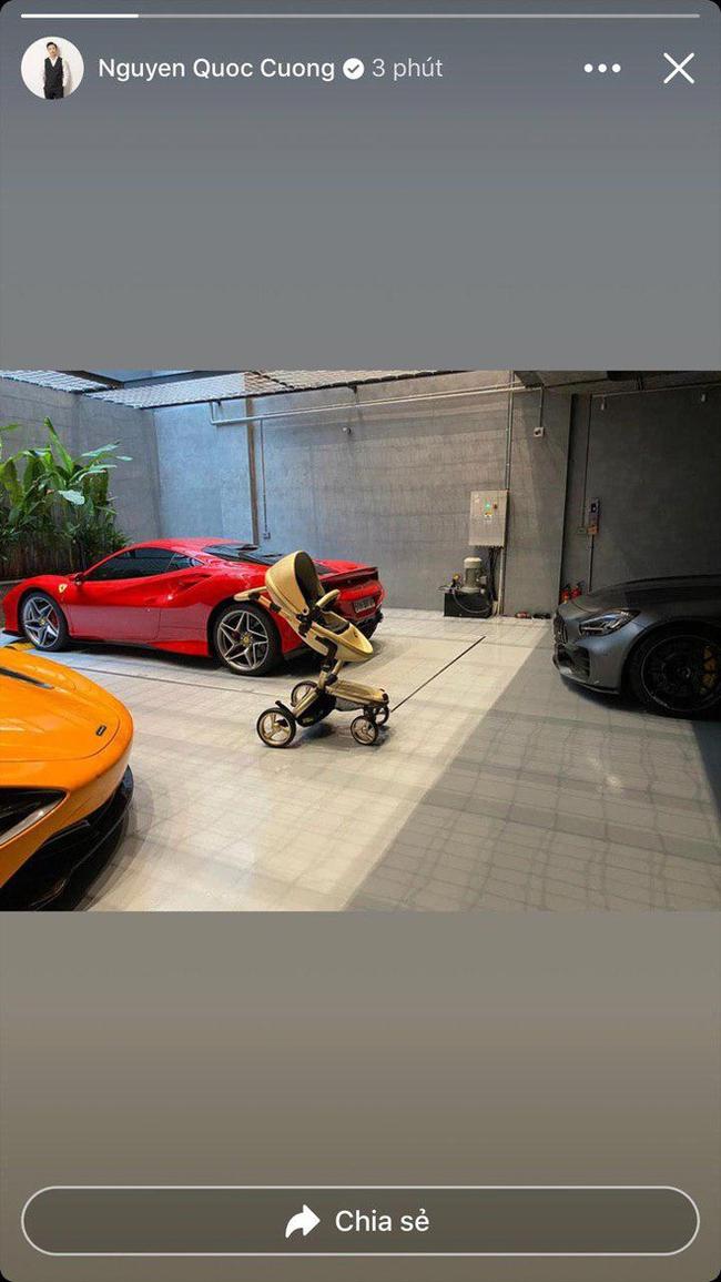 """Cường Đô La đúng ông bố """"bên ngoài phong độ bên trong nhiều tiền"""" khi sắm cho con gái xe đẩy, ghế nôi loại nào cũng đắt đỏ - Ảnh 1."""