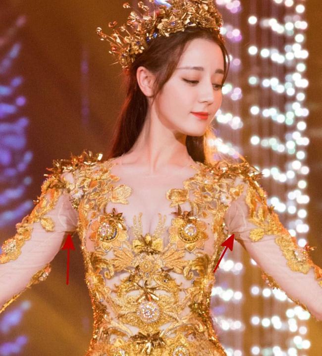 Angelababy mặc áo vàng khác lạ, netizen đồn đoán trở thành Nữ thần Kim Ưng sau Địch Lệ Nhiệt Ba  - Ảnh 7.