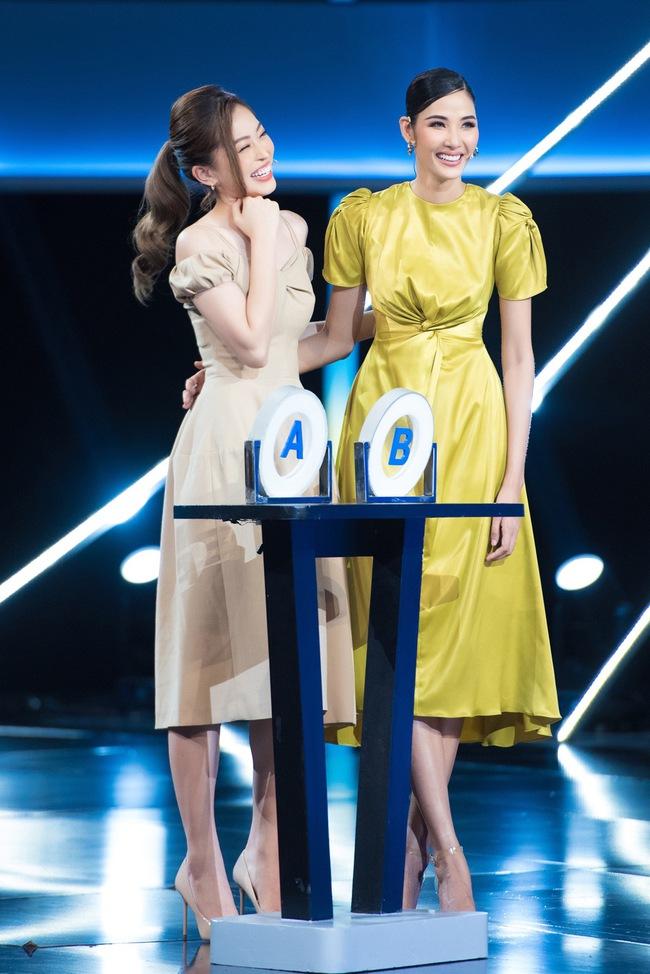 Ai bảo chân dài não ngắn, Á hậu Phương Nga - Hoàng Thùy thắng gần 400 triệu tại gameshow gây choáng váng - Ảnh 4.